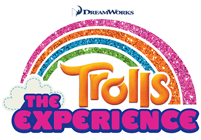 Trolls The Experience Logo